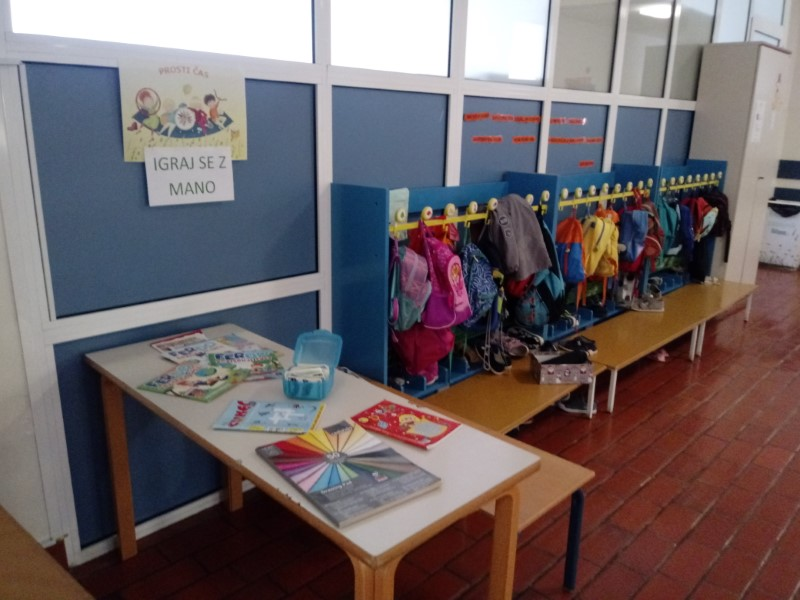 V tednu otroka smo popestrili prosti čas v šoli