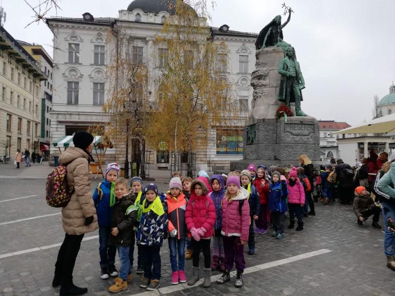 Kulturni dan – 1. razred Lutkovno gledališče Ljubljana
