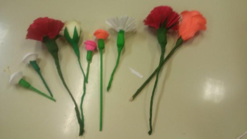Ustvarjali smo rožice