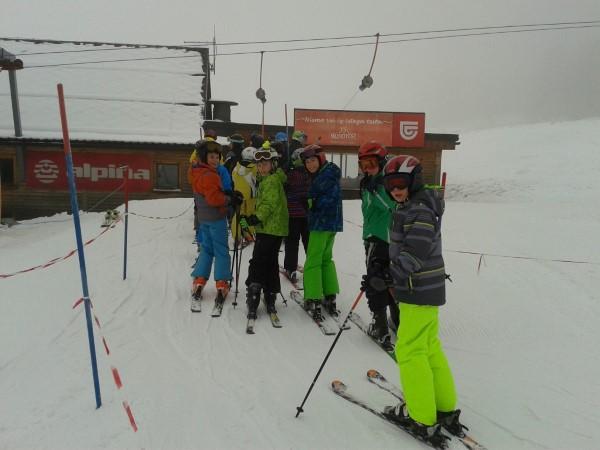 Športni dan na snegu – podružnici Podnanos in Goče