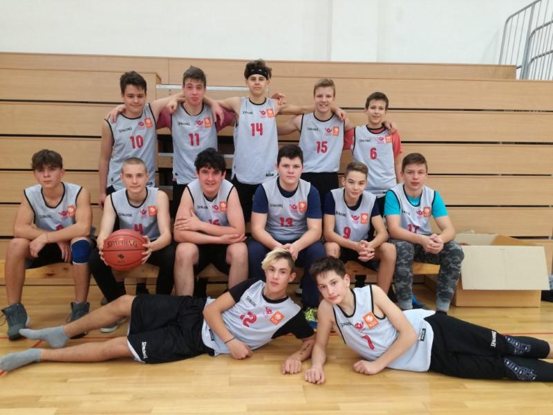 Košarka starejši učenci