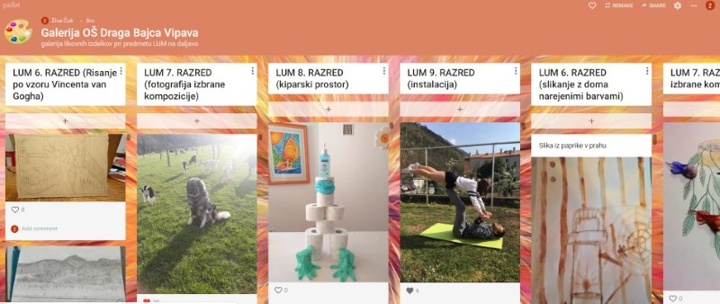 Spletna galerija LUM